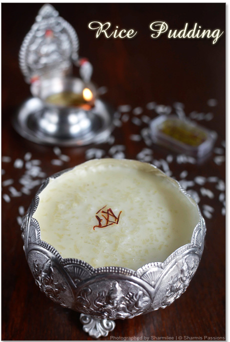 Milk and Rice Kheer Recipe