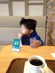 朝散歩 2012/12/26