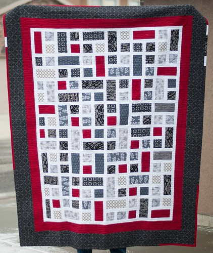Marnie's Rectangle Squared Quilt