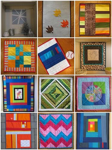2012 mini quilts