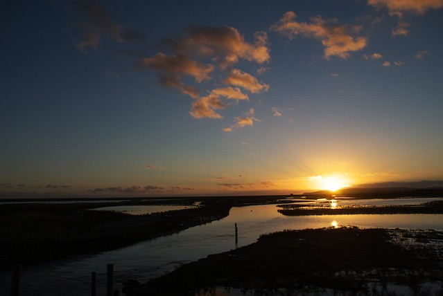 DSC_5467 Sunset at Rye Harbour Nature Reserve