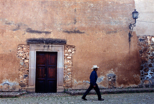 Patzcuaro wall (Mexico)
