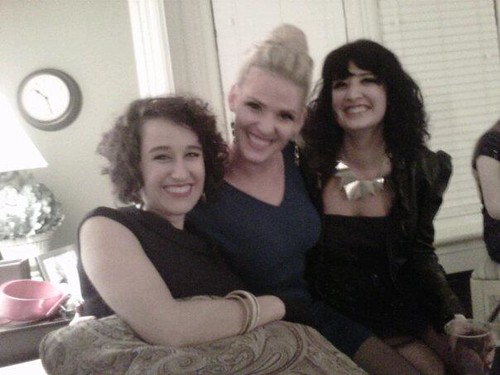 carrie, abigail & me