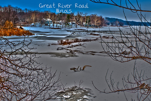 great river road winter