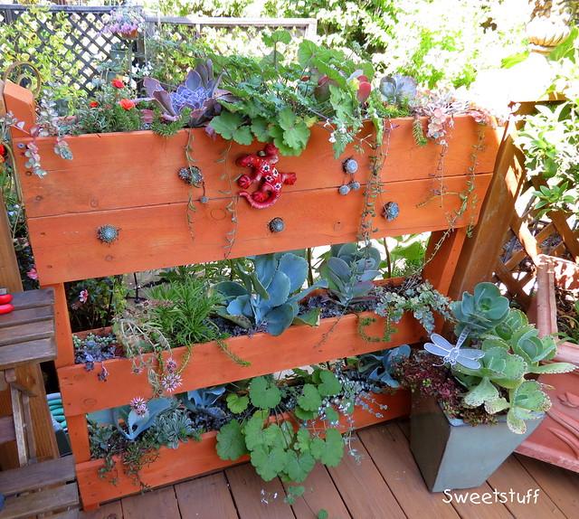 Beautiful Pallett planter