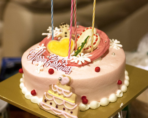 Xmas Cake From Artisee Bakery