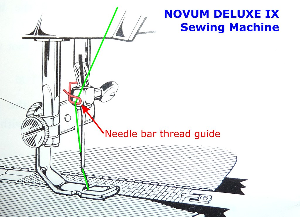 01 - Needle Bar Thread Guide - Broken (Jan 2013)