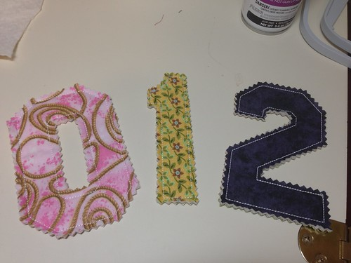 Softee Numbers  Scrappy Fabric