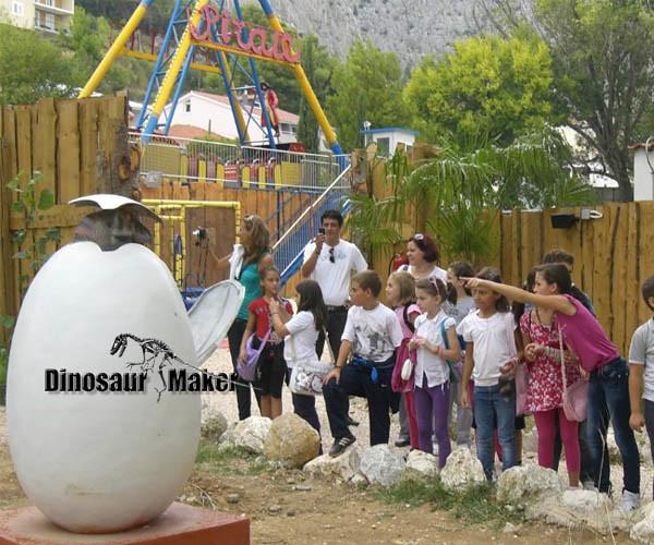 Kids Playground Animatronic Dinosaur in Dinopark