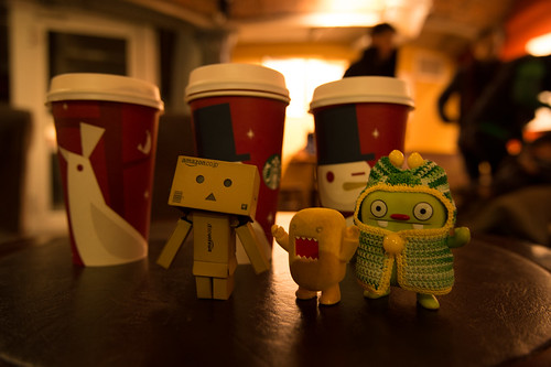 Day 2: Danbo and I met tofu_catgirl, K, Domo and Jeero