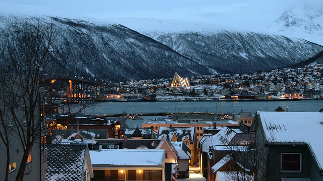 Winter morning, Tromsø