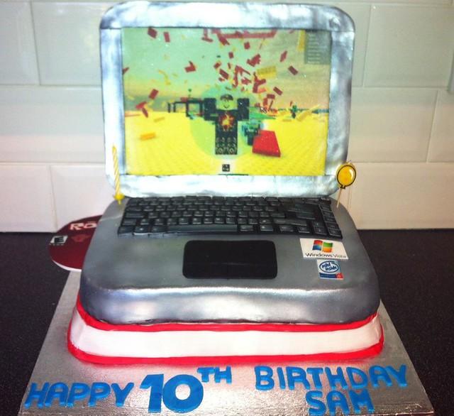 Roblox Laptop Cake Flickr Photo Sharing