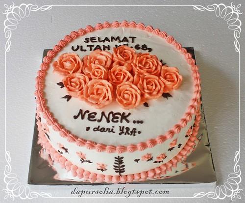 Cake Mawar Nenek Yudha