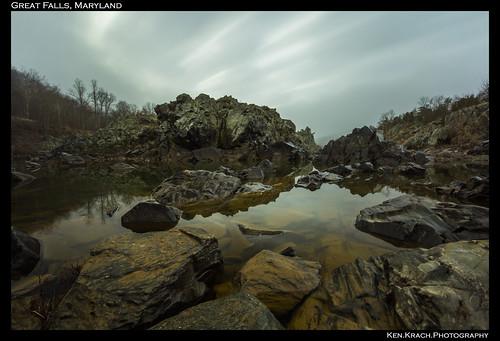 longexposure morning water rocks greatfalls maryland greatfallsmaryland
