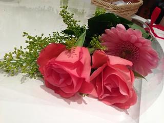 ピアノの発表会の花束