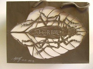 J Crow shopping bag made over