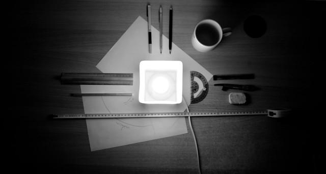 Le matériel du petit géomètre, par Monseigneur_Zar