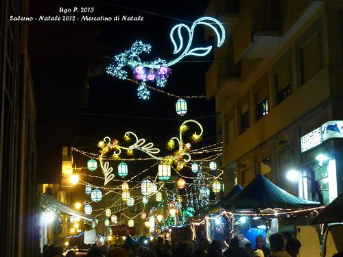 Salerno - Natale 2012 - Mercatino di Natale - Firma