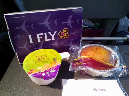 Thai Airways Breakfast Box