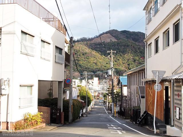 京都 遠眺大文字山