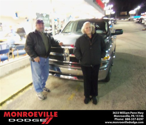 Congratulations to DAVID DEMARIO on the 2011 DODGE RAM by Monroeville Dodge