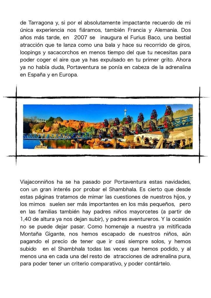 Adrenalina pura en Portaventura atracciones fuertes montañas rusas