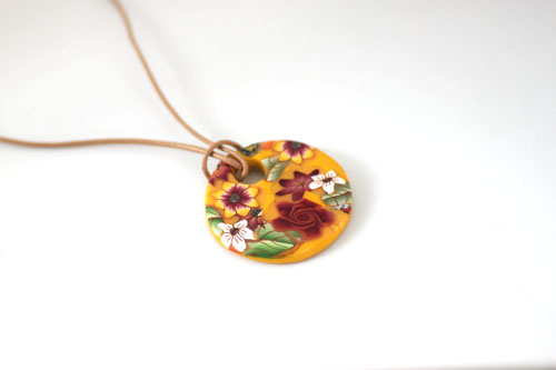 Pattern Sheet Pendant