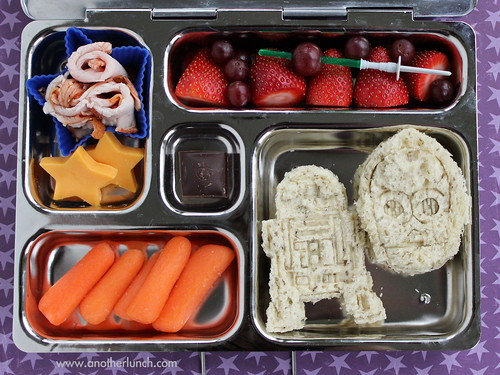 Star Wars PlanetBox lunch R2D2 C3PO bento