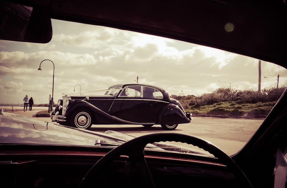 Wedding Car Jaguar MkV