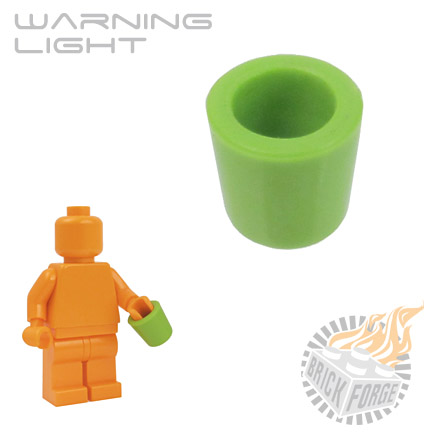 Warning Light - Lime Green