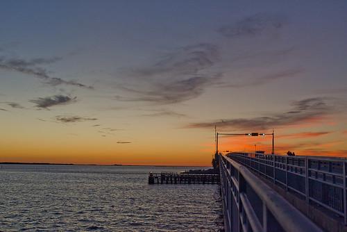 Sunset: Caladesi Island (Dunedin Causeway)