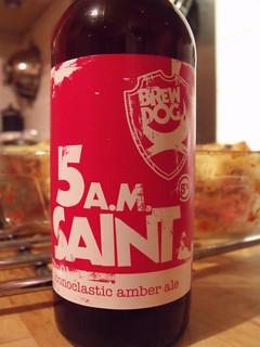 52 beers 5 - 23, BrewDog, 5 A.M. Saint, Scotland