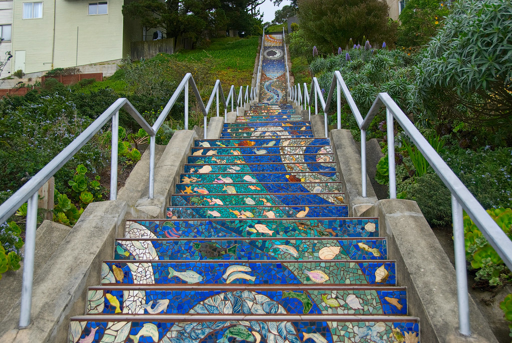 The Most Colorful Stairs The World