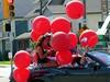 #cadillacbarbieinprideparade Stunning color!