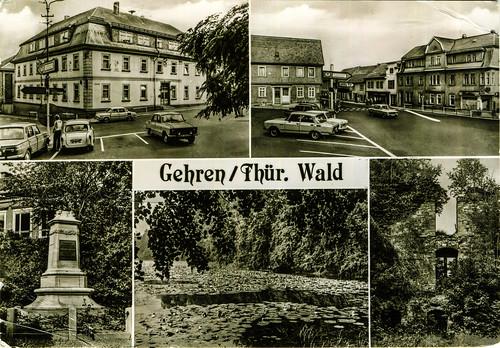 Germany - Thuringia - Gehren [02] - 1988 - front