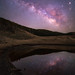 Milkyway in the mirror by mt.moco