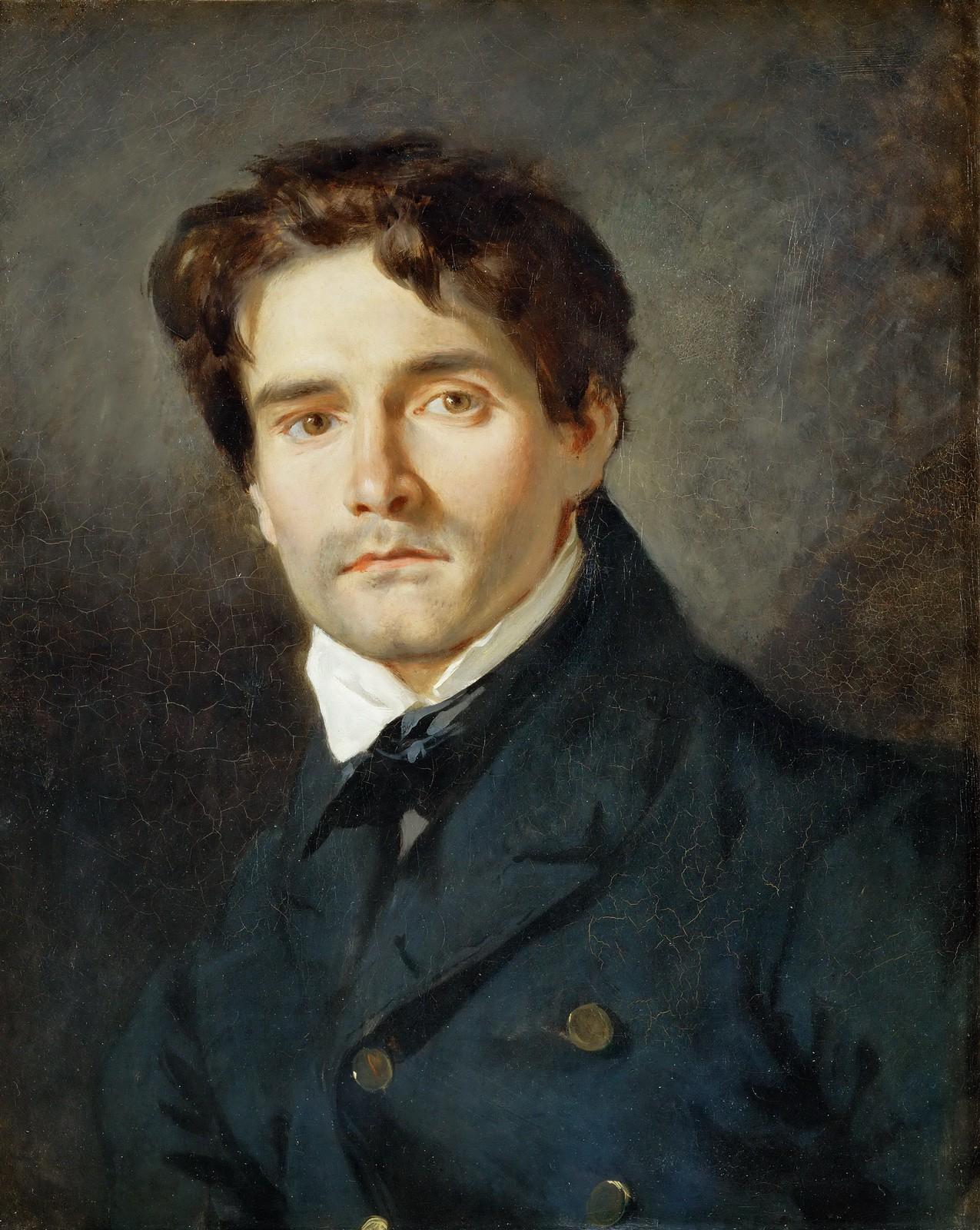 Léon Riesener by Eugène Delacroix, 1835