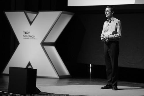 Jack Abbott Introduces Thupten Jinpa at TEDxSanDiego 2012