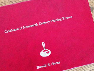 Catalogue of Nineteenth Century Printing Presses book