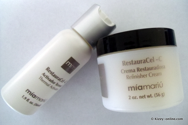 Mia Mariu RestauraCel-C RestauraCel C Thermal Microdermabrasion Set Home Review Reviews skin skincare
