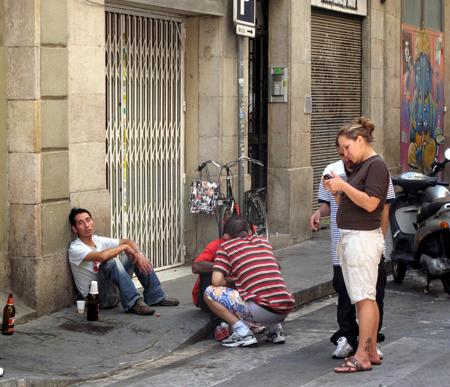 raval barcelona prostitutas prostitutas en poligonos
