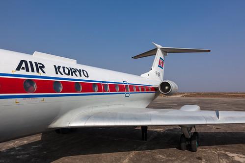 airport ramp air north korea korean airfield 134 tupolev dprk koryo tu134 hamhung sondok