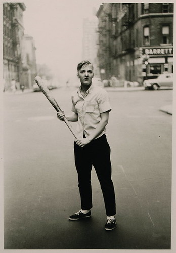 Arbus, Diane (1923-1971) - 1962 Teenager with a Baseball Bat, NYC by RasMarley
