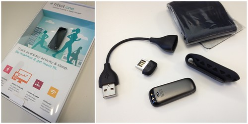 fitbit one, package