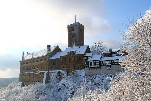 Wartburg with Snow *Eisenach, Winter 2012*