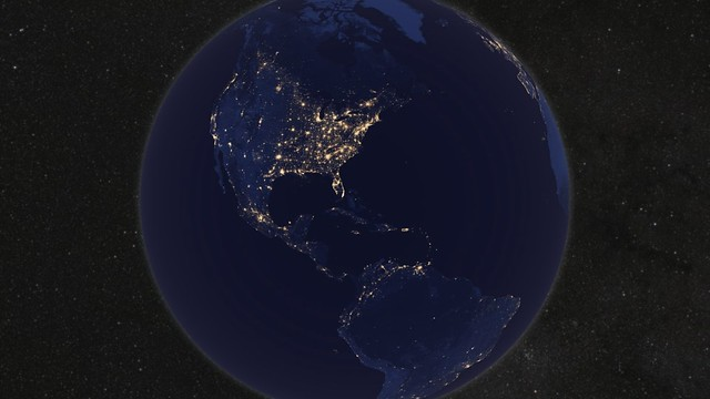 Whole Earth, Night [hd video]