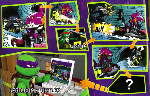 "LEGO Teenage Mutant Ninja Turtles :: ""Stealth Shell in Pursuit"" ; manual iii (( 2013 ))"