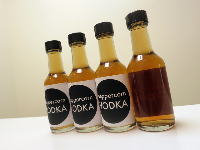 peppercorn vodka