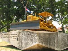 Parque - monumento a la Batalla de Santa Clara, llamado 'del Tren Blindado'