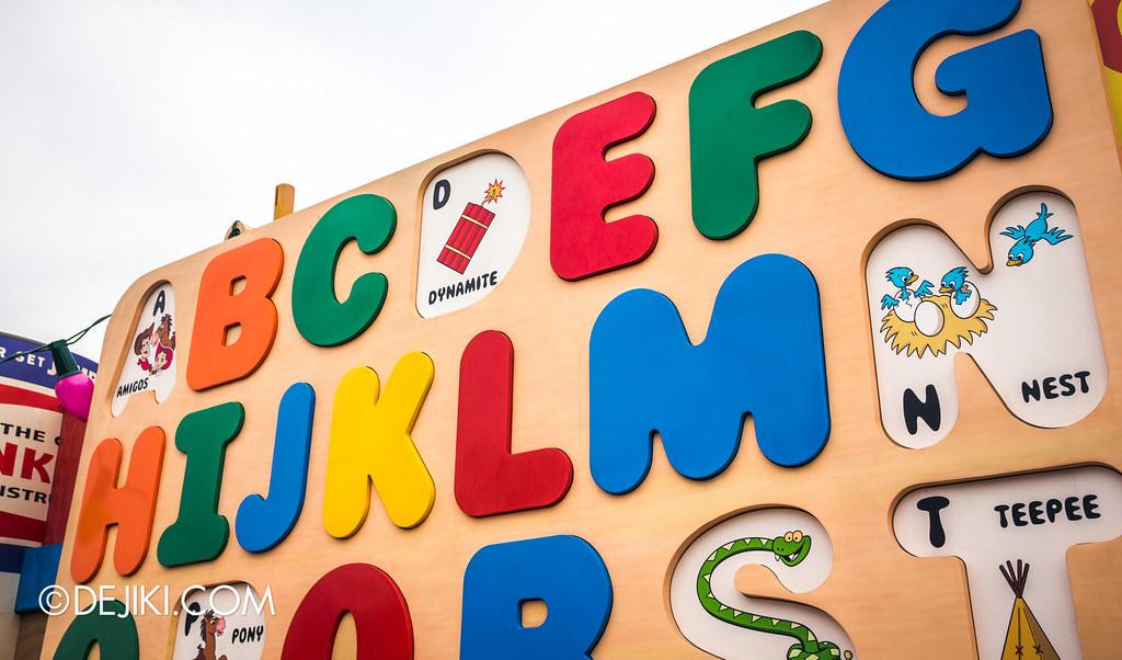 TSL, letters